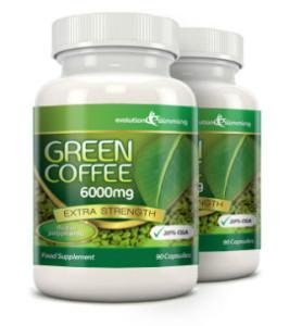 green coffee bean pure
